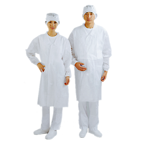 使い捨て不織布見学者用白衣の作業着通販