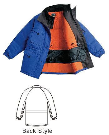 -60℃対応 冷凍冷蔵倉庫用 防寒コート