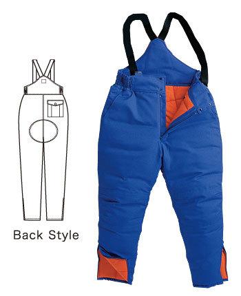 -60℃対応 冷凍冷蔵倉庫用 防寒パンツ
