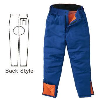 -40℃対応 冷凍冷蔵倉庫用 防寒パンツ
