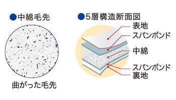 5層構造断面図